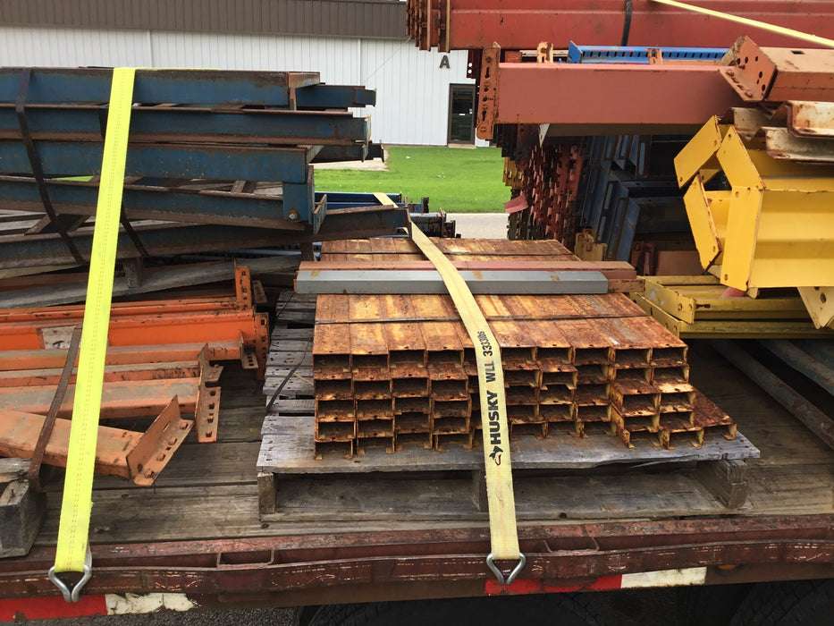"Used Racking System Pallet Support - 38"" X 3"""