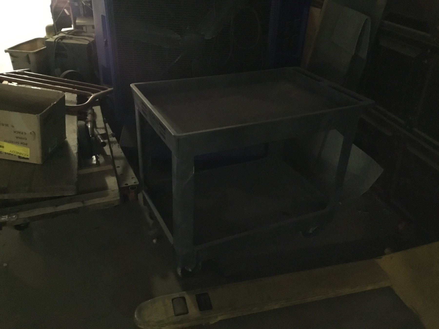 Used Global Warehouse inventory  Rolling Cart
