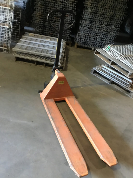 Used 2200LB Capacity Warehouse Pallet Jack