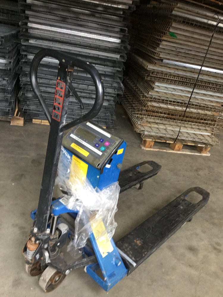 Cheap Used Pallet Jack with Scale