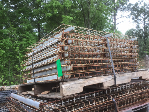 "Used Wire Waterfall Pallet Rack Deck - 34"" X 46"""