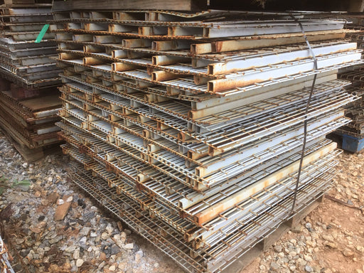 "Used Lay In Wire Pallet Rack Decking - 44"" X 48"""