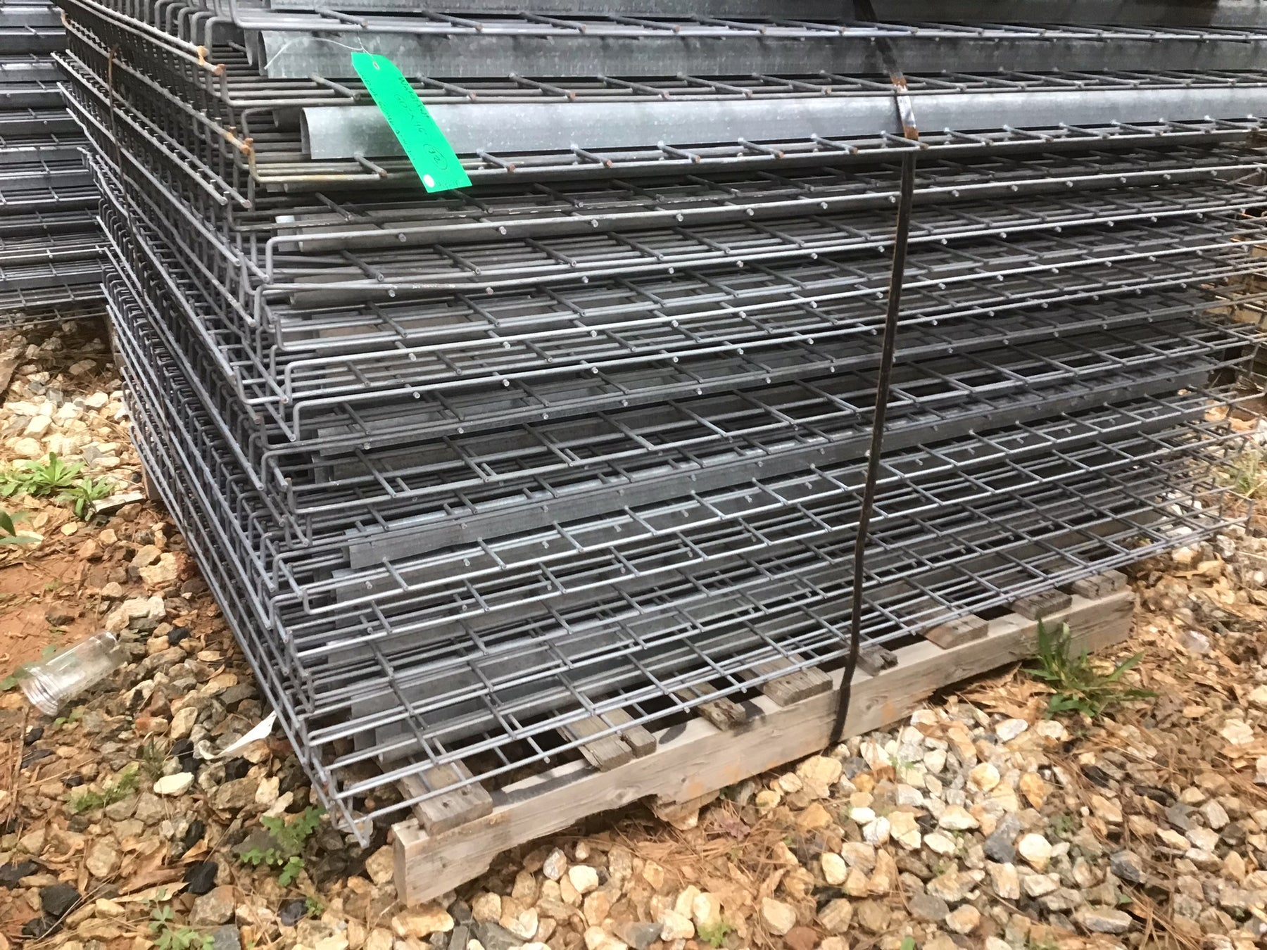 "Used Pallet Rack Waterfall Wire Deck - 60"" X 46"""