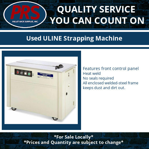 Used ULINE Strapping Machine