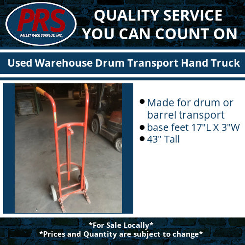Used 55 Gallon Drum Hand Truck