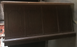 "Used Faux Cherry Wood Executive Desk - 60"" X 30"" X 30"""