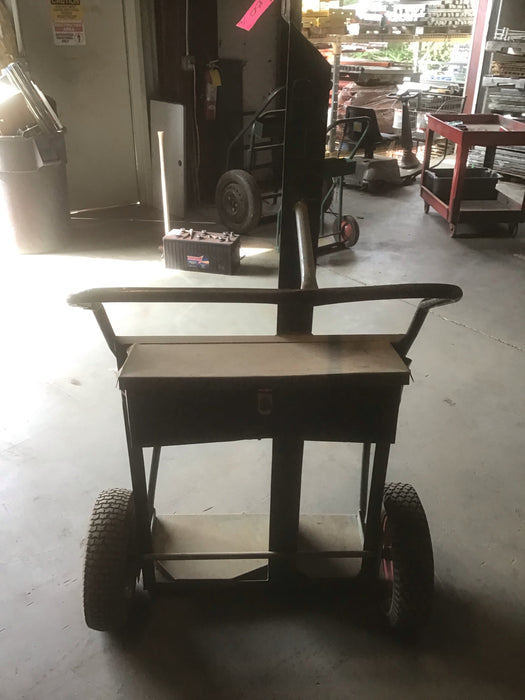 Used Split Style Fuel/Air Tank Hand Truck