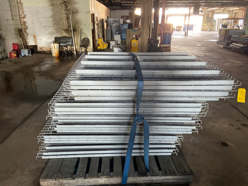 "Used Waterfall Wire Decking - 46"" X 61"""