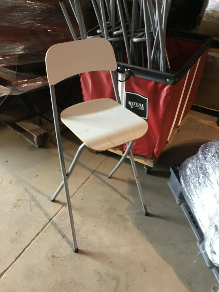 Used Metal and Plastic Folding Wedding Chairs