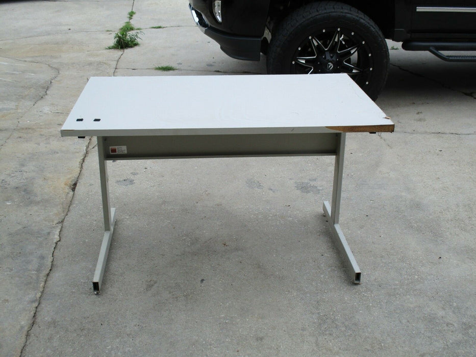 Small Used Workbench Industrial Desk