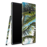 Samsung Note 9 Skin (Green Palms)