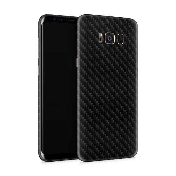 Samsung S8 Plus Skin (Black Carbon)