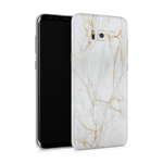 Samsung S8 Plus Skin (Gold Marble)
