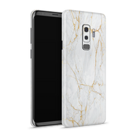 Samsung S9 Plus Skin (Gold Marble)