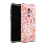 Samsung S9 Plus Skin (Pink Leaves)