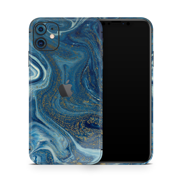 iPhone 11 Skin (Blue Marble)