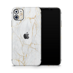 iPhone 11 Skin (Gold Marble)