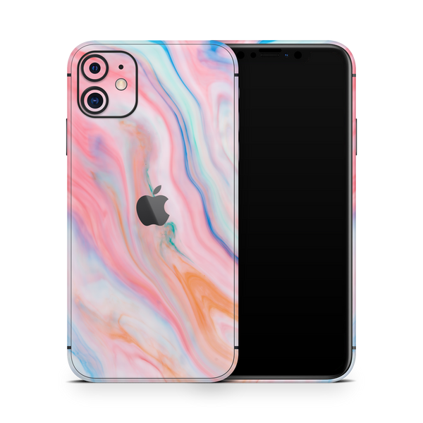 iPhone 11 Skin (Ice Cream Marble)