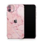 iPhone 11 Skin (Pink Marble)