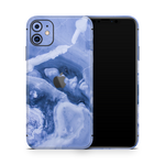 iPhone 11 Skin (Purple Marble)
