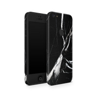 iPhone 5/5S/SE Skin (Black Marble)