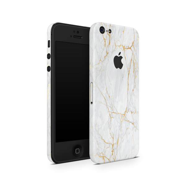 iPhone 5/5S/SE Skin (Gold Marble)