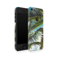 iPhone 5/5S/SE Skin (Green Palms)