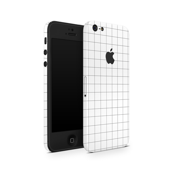 iPhone 5/5S/SE Skin (Grid Lines)