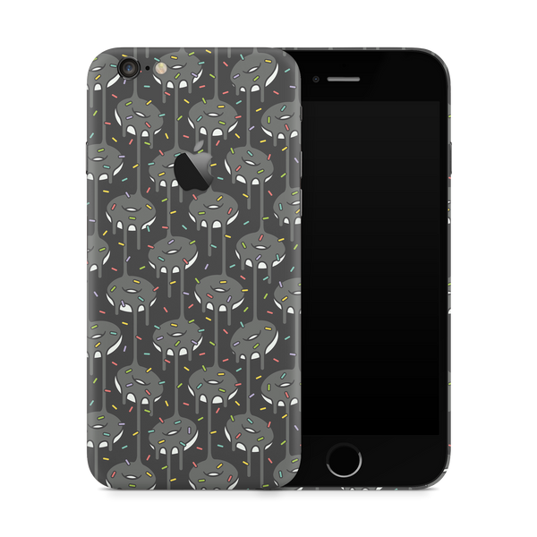 iPhone 6/6S Skin (Black Donut)