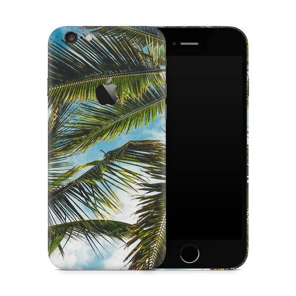 iPhone 6/6S Plus Skin (Green Palms)