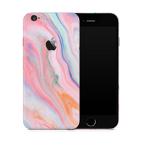 iPhone 6/6S Plus Skin (Ice Cream Marble)