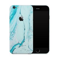iPhone 6/6S Skin (Light Blue Marble)