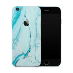 iPhone 6/6S Plus Skin (Light Blue Marble)
