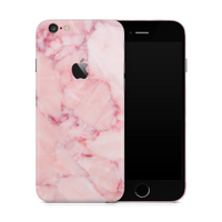 iPhone 6/6S Plus Skin (Pink Marble)