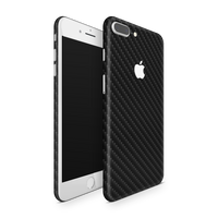 iPhone 7 Plus Skin (Black Carbon)