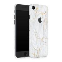 iPhone 8 Skin (Gold Marble)