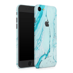 iPhone 8 Skin (Light Blue Marble)