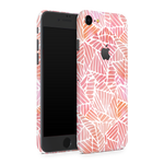 iPhone 8 Skin (Pink Leaves)