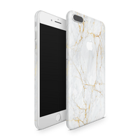 iPhone 8 Plus Skin (Gold Marble)