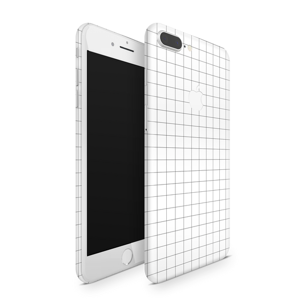 iPhone 8 Plus Skin (Grid Lines)