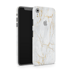 iPhone XR Skin (Gold Marble)