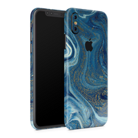 iPhone XS Max Skin (Blue Marble)