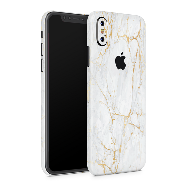 iPhone XS Max Skin (Gold Marble)