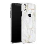 iPhone XS Skin (Gold Marble)