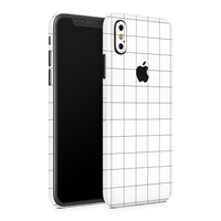 iPhone X Skin (Grid Lines)