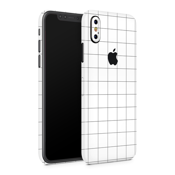 iPhone XS Skin (Grid Lines)