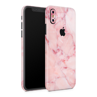 iPhone XS Skin (Pink Marble)