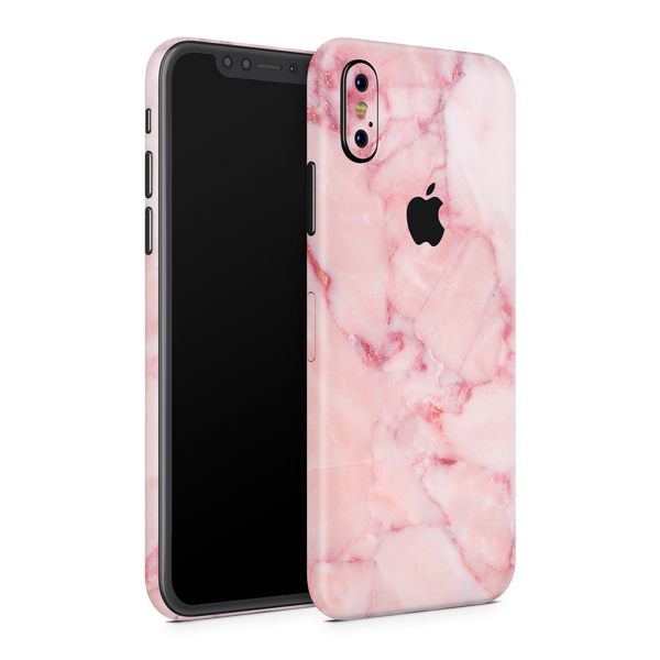 iPhone X Skin (Pink Marble)