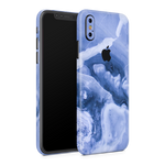iPhone XS Skin (Purple Marble)