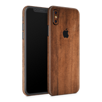iPhone XS Skin (Wood)